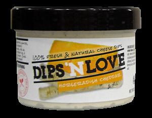 Dips 'n Love Horseradish Cheddar Cheese Dip