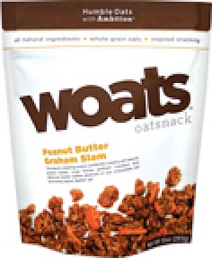 What's Woats Oats Peanut butter Graham slam?