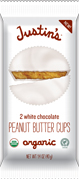 A tasty organic treat - Justin's Peanut Butter Cups
