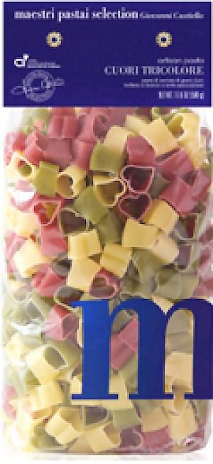 Maestri Pastai Selection Cuori Tricolore