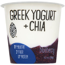 The Epic Seed Greek Yogurt + Chia Blueberry Flavor