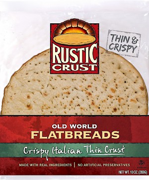 Rustic Crust Old World Flatbreads Crispy Italian Thin Crust