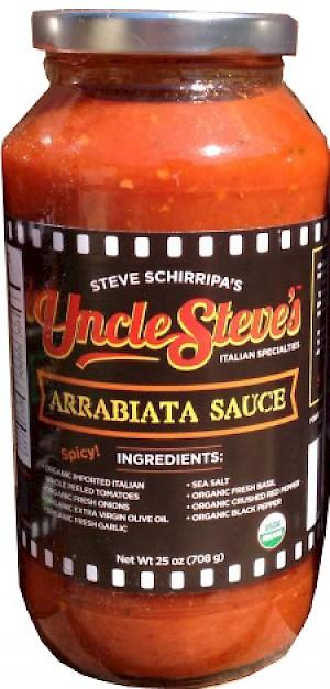 Uncle Steve's Pasta Sauce Arrabiata Sauce
