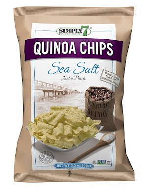 Simply 7 Snacks Quinoa Chips Sea Salt