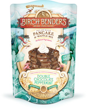 Birch Benders Pancake & Waffle Mix Double Chocolate Peppermint