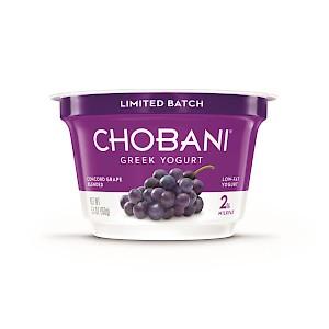 Chobani Greek Yogurt Limited Batch Grape