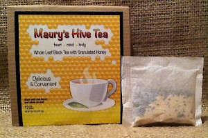 Maury's Hive Tea Whole Leaf Black Tea with Granulated Honey