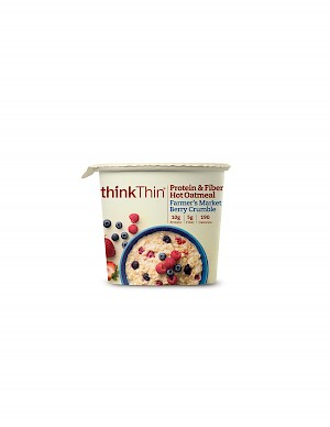 ThinkThin Farmer's Market Berry Crumble Oatmeal