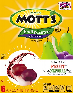 Mott's Fruity Centers Mixed Berry