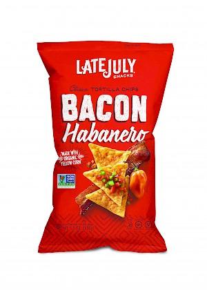 Late July Clásico Tortilla Chips Bacon Habanero
