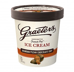 Graeter's French Pot Ice Cream Bourbon Pecan Chocolate Chip