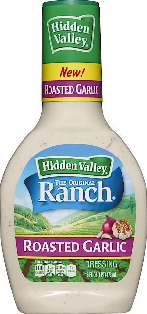 Hidden Valley Ranch Roasted Garlic