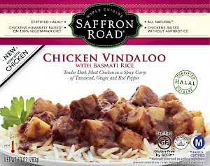Saffron Road Chicken Vindaloo Indian-Hot Heat
