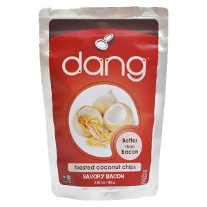 Dang Foods Toasted Coconut Chips Savory Bacon