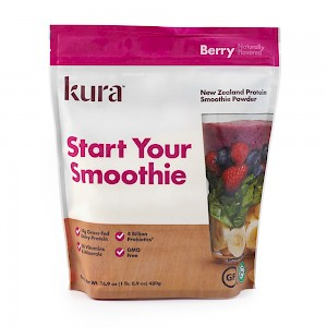 KURA Protein Smoothie Powder Berry
