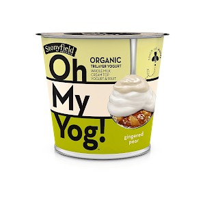 Stonyfield Organic Oh My Yog! Gingered Pear