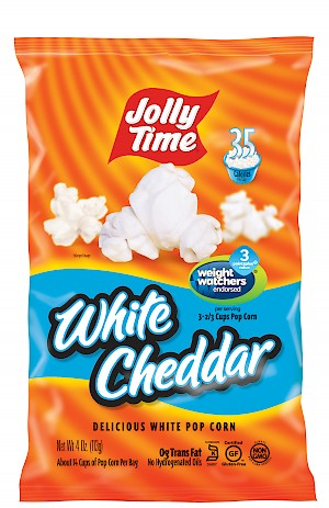 JOLLY TIME Ready-to-Eat Pop Corn White Cheddar