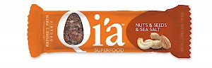 Nature's Path Qi'a Superfood Snack Bars Nuts & Seeds & Sea Salt