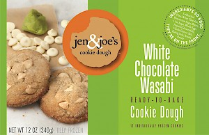 Jen & Joe's Cookie Dough White Chocolate Wasabi