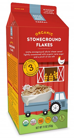 Back to the Roots Cereal Organic Stoneground Flakes
