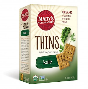 Mary's Gone Crackers Thins Kale
