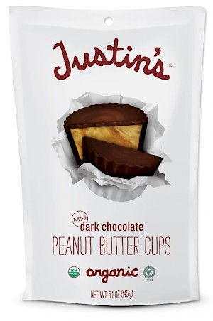 Justin's Mini Peanut Butter Cups Dark Chocolate