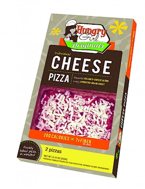 Hungry Girl Cheese Pizza