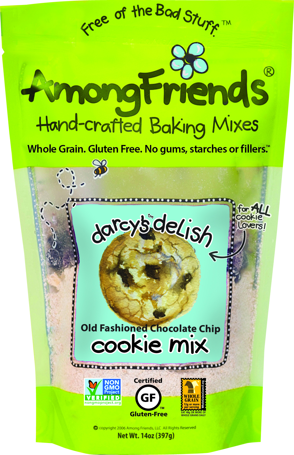 Among Friends: Darcy's Delish Old Fashioned Cookie Mix