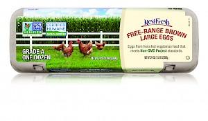 NestFresh Eggs Free Range Brown Large Eggs
