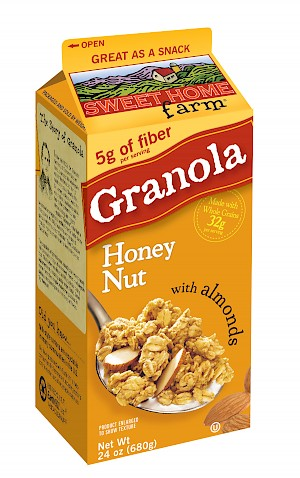 Sweet Home Farm Granola Honey Nut with Almonds is a HIT
