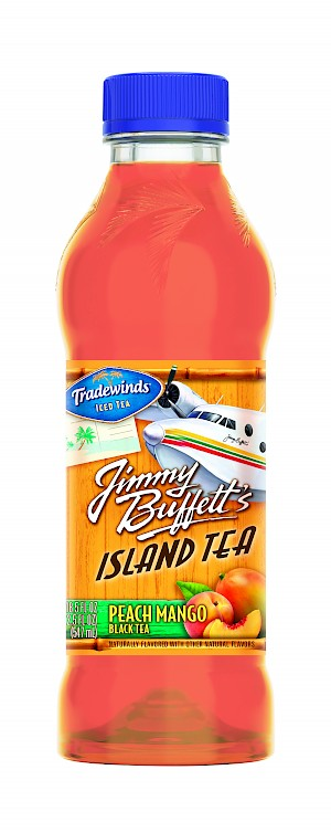 Tradewinds Jimmy Buffett's Island Tea Peach Mango Black Tea is a HIT
