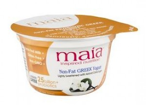 Maia Greek Yogurt Vanilla Bean