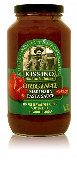 Kissino Pasta Sauce Original Marinara