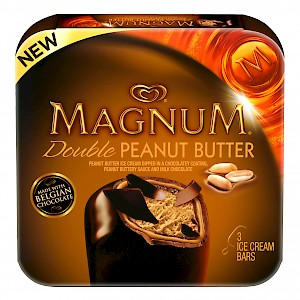 MAGNUM Ice Cream Bars Double Peanut Butter