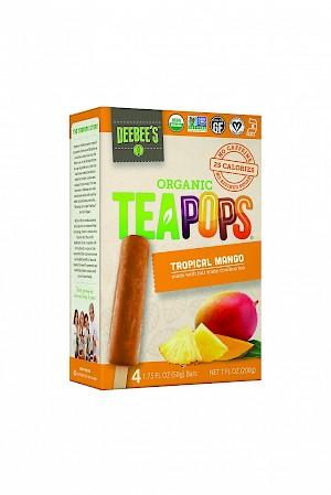 DeeBee's Organic TeaPops Tropical Mango