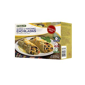 CedarLane Natural Foods Enchiladas Quinoa & Vegetable with Poblano Crema Sauce