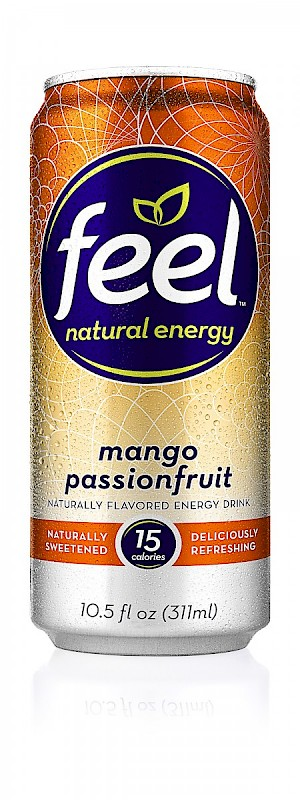 FEEL Natural Energy Drink Mango Passionfruit