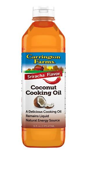 Carrington Farms Coconut Cooking Oil Sriracha is a HIT