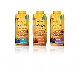 Gevalia Iced Coffee with Almond Milk Caramel