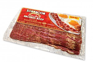 Schmacon Smoked Uncured Beef Slices Original