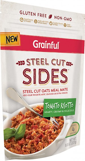Grainful Steel Cut Sides Tomato Risotto
