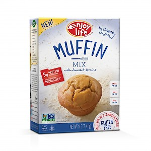 Enjoy Life Foods Baking Mix Muffin Mix with Ancient Grains is a HIT