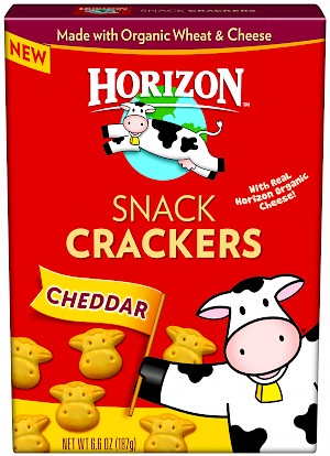 Horizon Snack Crackers Cheddar