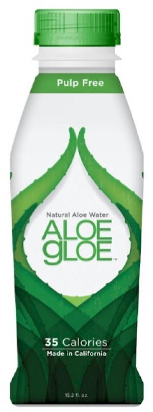 Aloe Gloe Organic Aloe Water Crisp Aloe is a HIT
