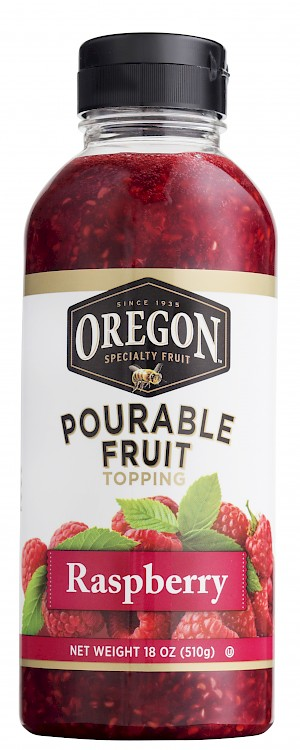 Oregon Fruit Products Pourable Fruit Raspberry is a HIT