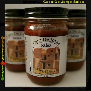 Casa De Jorge Salsa Raspberry Barbacoa Chipotle is a HIT