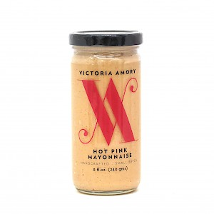 Victoria Amory Hot Pink Mayonnaise Spicy, Peppery, Creamy is a HIT