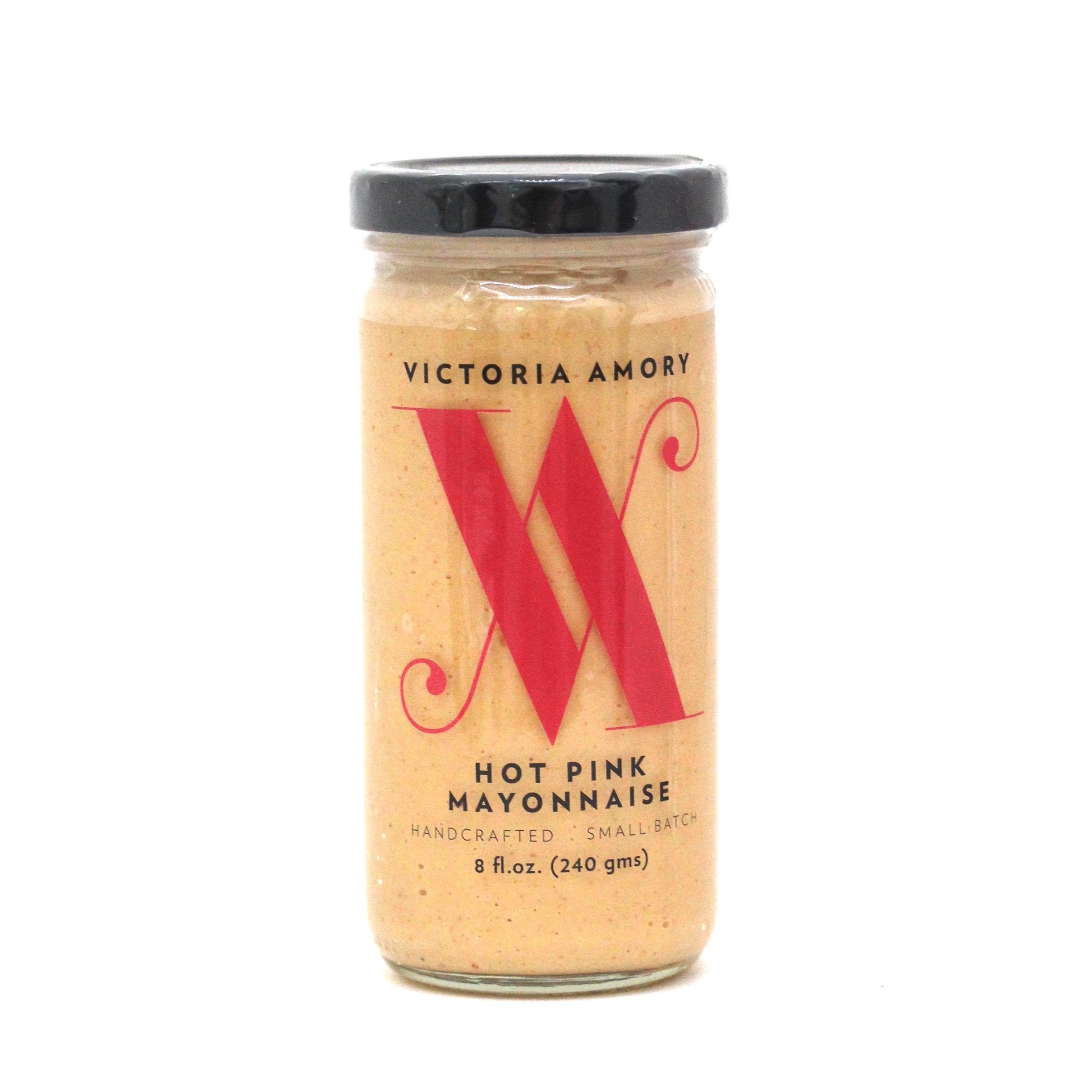 Victoria Amory: Hot Pink Mayonnaise