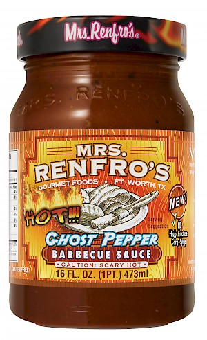 Mrs. Renfro's Barbecue Sauce Ghost Pepper is a HIT