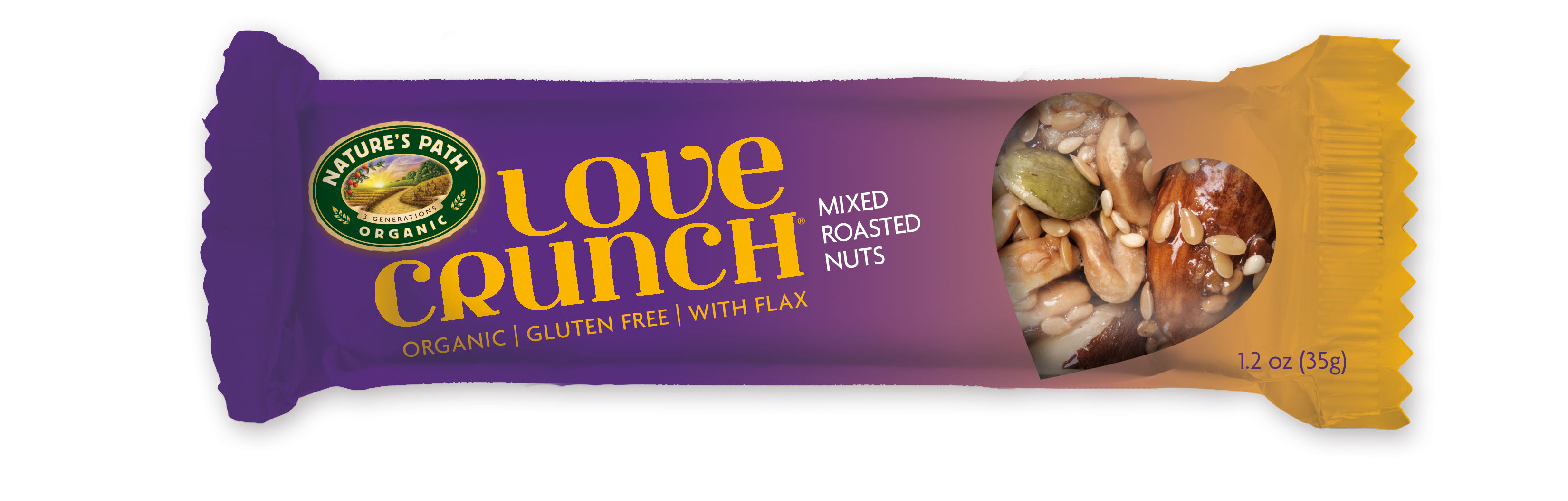 Nature's Path Love Crunch Bar Mixed Roasted Nuts is a Hit